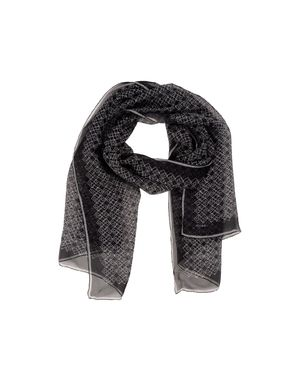 黑色 BALLY 围巾