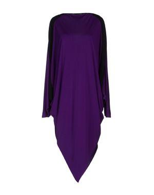 紫色 JEAN PAUL GAULTIER 及膝连衣裙