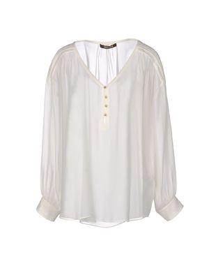 象牙白 ROBERTO CAVALLI 女士衬衫