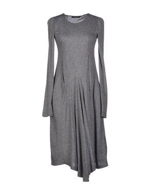 灰色 D.A. DANIELE ALESSANDRINI 及膝连衣裙