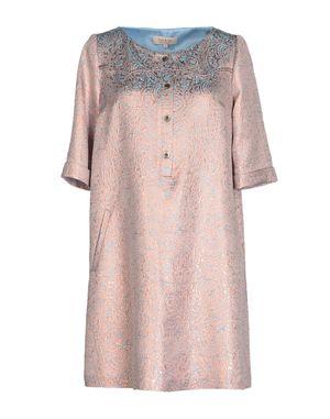 水粉红 PAUL & JOE 短款连衣裙