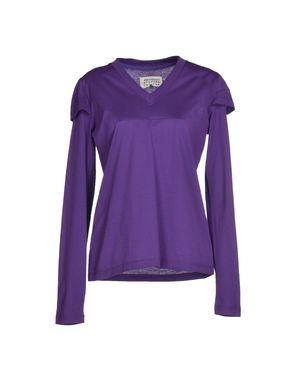紫色 MAISON MARTIN MARGIELA 1 T-shirt