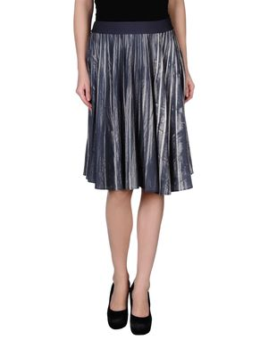 铅灰色 MAISON MARTIN MARGIELA 1 及膝半裙