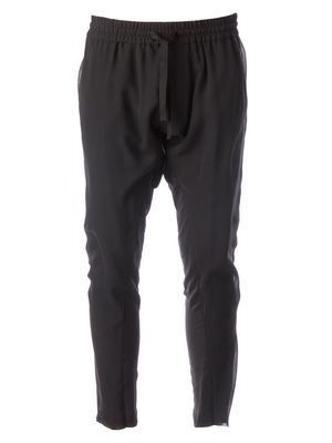 HAIDER ACKERMANN tapered drawstring trousers