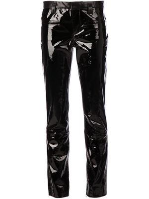HAIDER ACKERMANN leather trousers