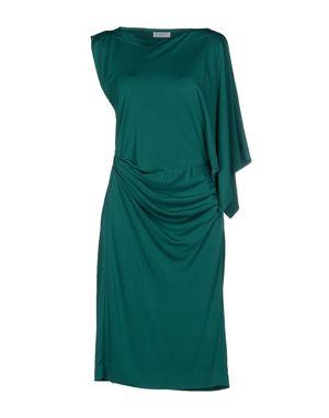 祖母绿 VIONNET 及膝连衣裙