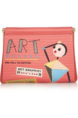 Art Modern Maggie 刺绣双绉手拿包
