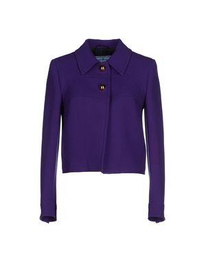 紫色 PRADA 西装上衣