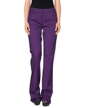 紫红 PRADA 裤装