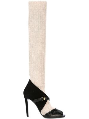 VIONNET open toe pumps
