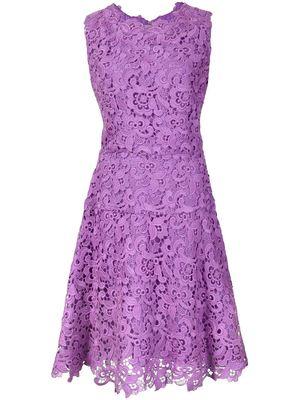 OSCAR DE LA RENTA all over lace dress