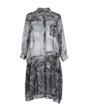 灰色 BOY BY BAND OF OUTSIDERS 短款连衣裙