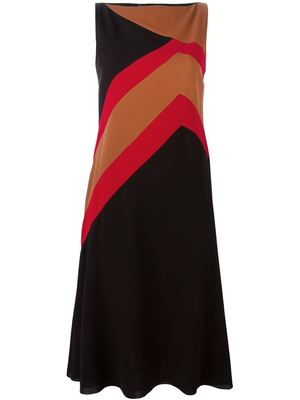 SALVATORE FERRAGAMO geometric print dress