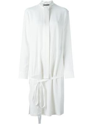 HAIDER ACKERMANN belted shirt dress