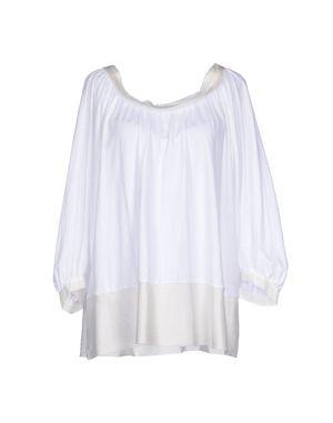 白色 ...À_LA_FOIS... T-shirt