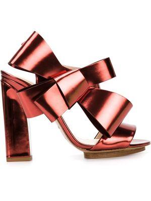 DELPOZO bow sandals
