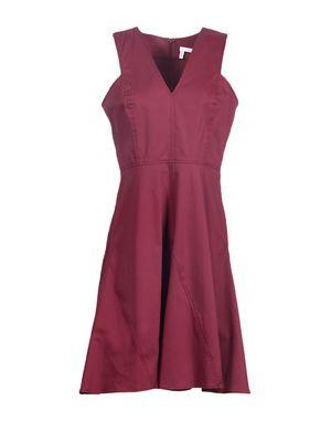 紫红 10 CROSBY DEREK LAM 短款连衣裙