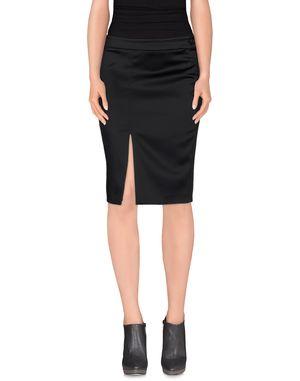 黑色 ICE ICEBERG 及膝半裙