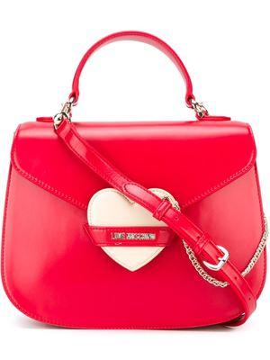 LOVE MOSCHINO heart logo satchel