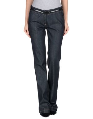 黑色 FAY 牛仔裤