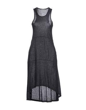 青灰色 PINKO GREY 及膝连衣裙