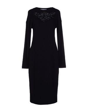 黑色 FRANKIE MORELLO 及膝连衣裙