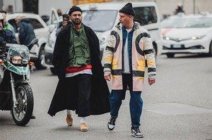 米兰2018秋冬男装周街拍