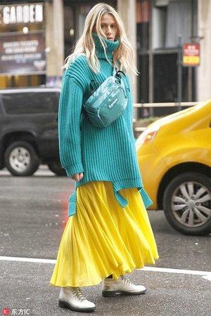 出了名显胖的百褶裙 开春搭配这些单品又瘦又仙!