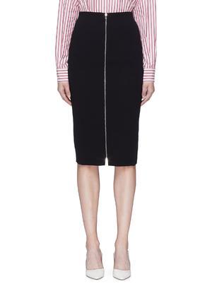 拉链设计铅笔半裙