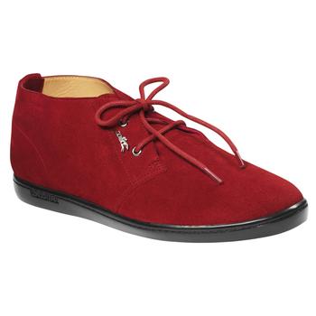 Longchamp珑骧2014初春红色简洁平底鞋