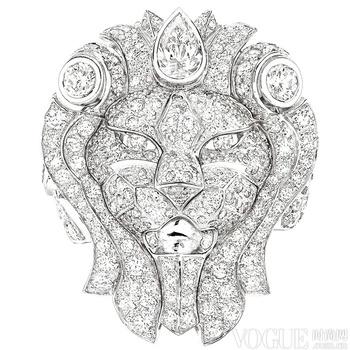 "香奈儿""Sous le Signe du Lion""高级珠宝系列"