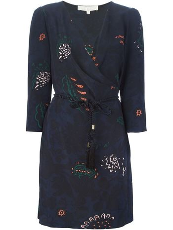 VANESSA BRUNO printed wrap dress