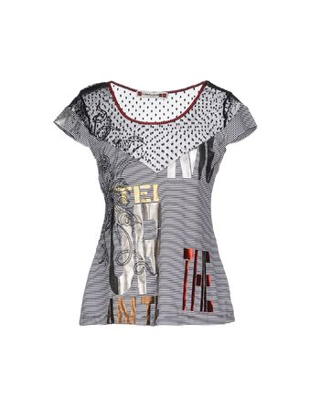 黑色 PIANURASTUDIO T-shirt