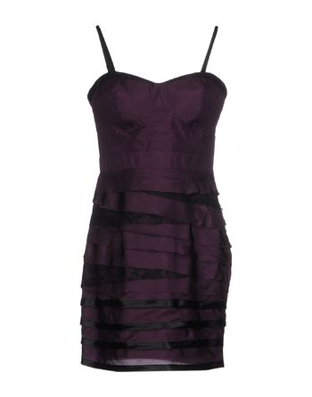 紫色 LIPSY 短款连衣裙