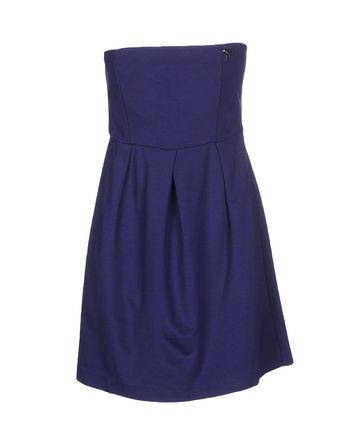 蓝色 SCEE BY TWIN-SET 短款连衣裙