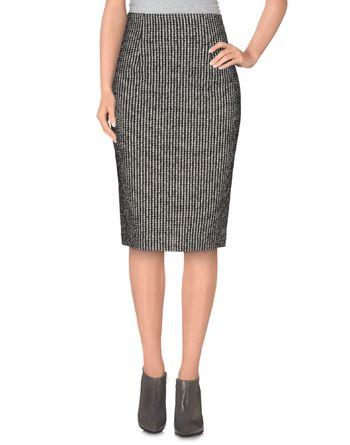 黑色 NEW YORK INDUSTRIE 半长裙