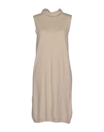 米色 AVIÙ 短款连衣裙