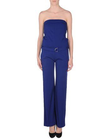 蓝色 SUOLI 连身长裤
