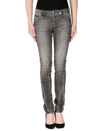 青灰色 PHILIPP PLEIN COUTURE 牛仔裤