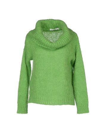荧光绿 JUCCA 圆领针织衫