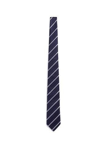 格纹及斜纹真丝领带