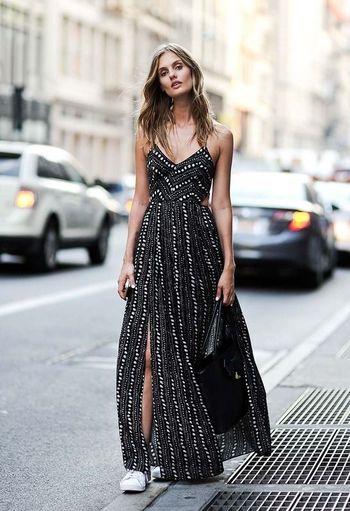 到了夏天,你得知道飘逸的长裙该怎么选