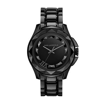 Karl Lagerfeld卡尔·拉格斐SEVEN系列黑色腕表