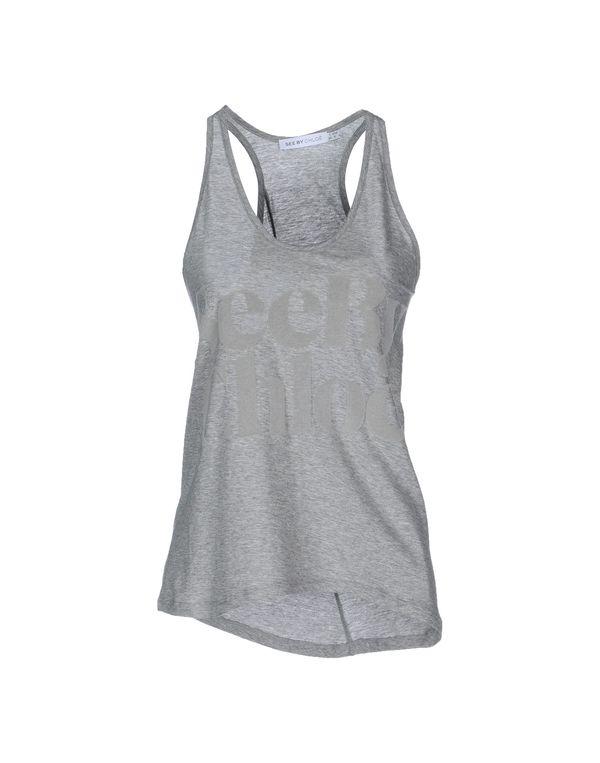 灰色 SEE BY CHLOÉ Polo衫