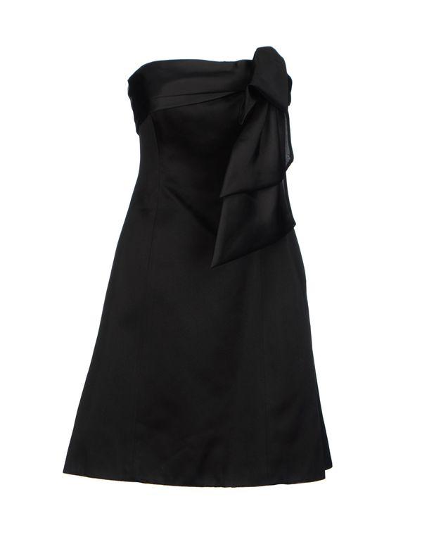 黑色 RALPH LAUREN 短款连衣裙