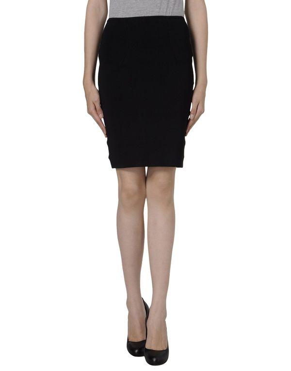 黑色 ALEXANDER WANG 超短裙