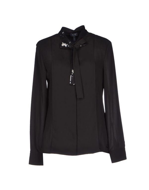 黑色 ARMANI JEANS Shirt