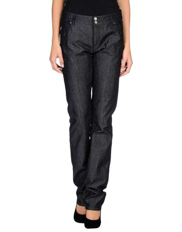 黑色 EMPORIO ARMANI 牛仔裤