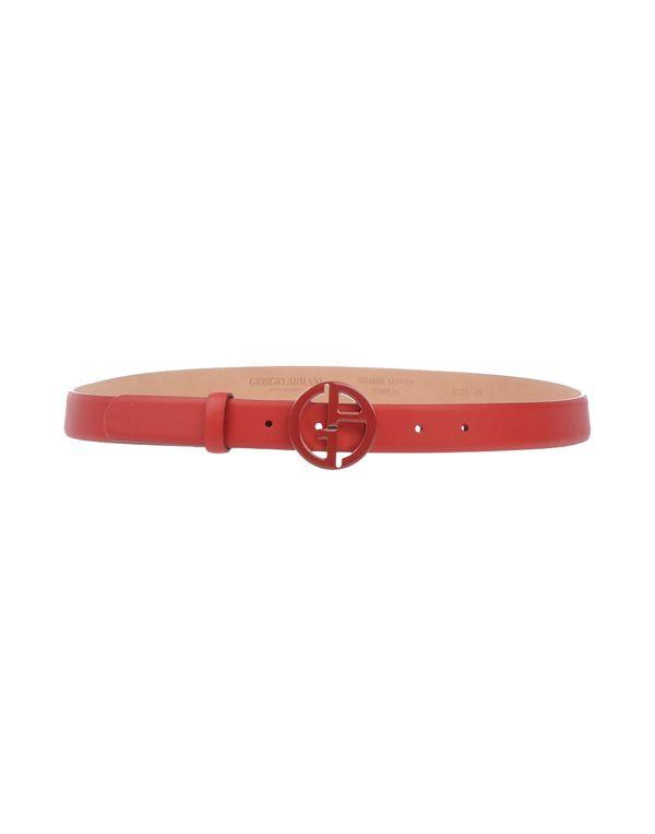 红色 GIORGIO ARMANI 腰带
