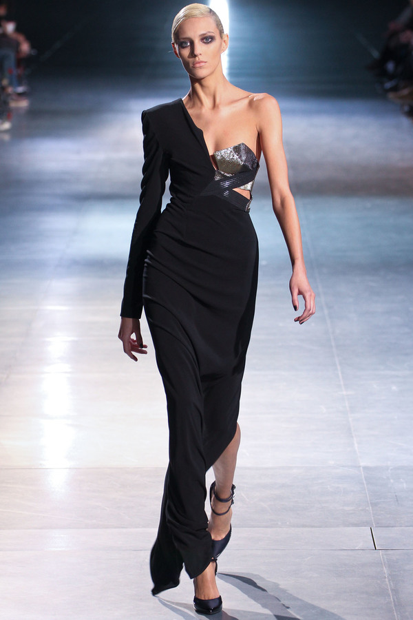 Anthony Vaccarello2012秋冬时装秀